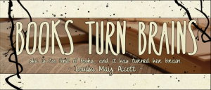 Books Turn Brains Blog Button