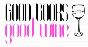 Good Books Good Wine Blog Button