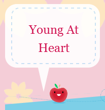 Young at Heart Button