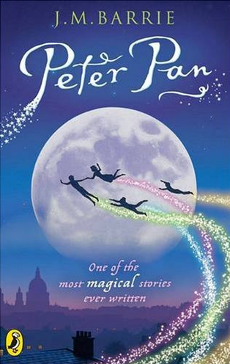 peter pan and j m barrie Directed by marc forster with johnny depp, kate winslet, julie christie, radha mitchell the story of jm barrie's friendship with a family who inspired him to create peter pan.
