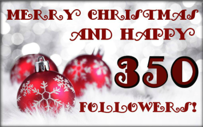 350 Christmas Follower Button