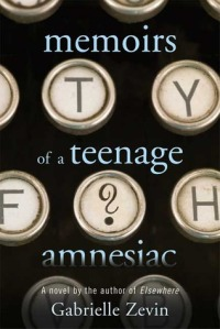 Memoirs Teenage Amnesiac Cover