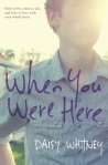 When You Were Here Cover