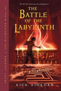 Battle of the Labyrinth Cover