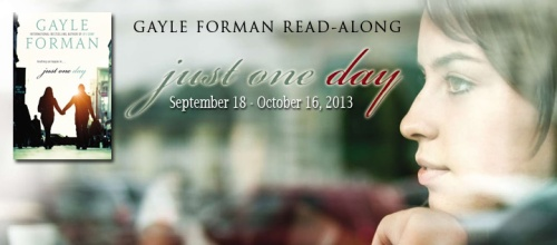 Just One Day Read Along Banner