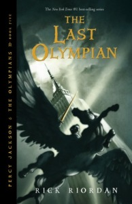 The Last Olympian Cover