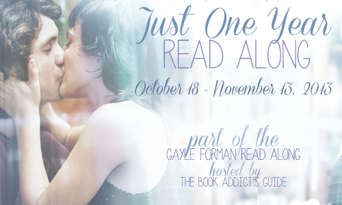 Just One Year Read Along Banner